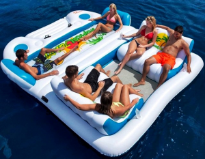 Sun Pleasure Tropical Tahiti Float