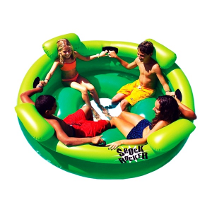 4.Swimline Inflatable Shock Rocker Float