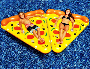 Pizza Slice Pool Float (Set of 2)